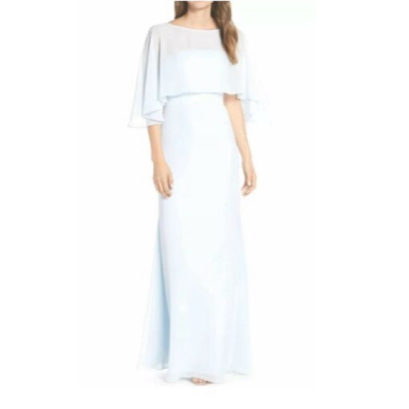 Haley Paige Occasions Dresses & Skirts - HALEY PAIGE OCCASIONS STRAPLESS CHIFFON LONG DRESS
